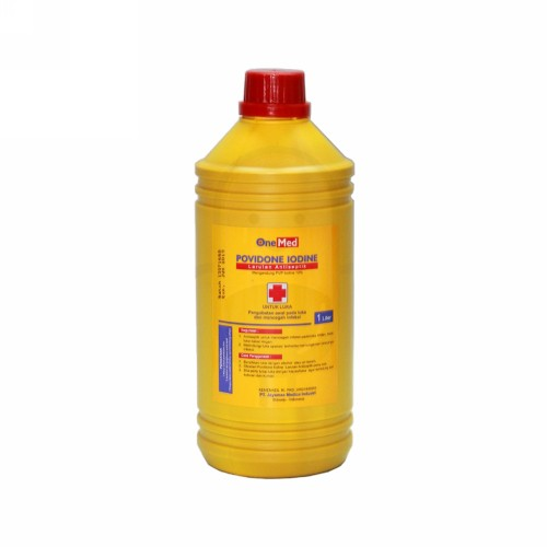 ONE MED POVIDINE IODINE BOTOL 1000 ML