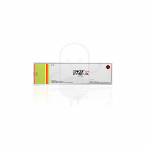 OPICEF 500 MG KAPSUL STRIP