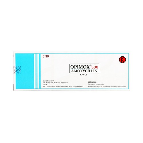 OPIMOX 500 MG TABLET