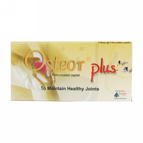 OSTEOR PLUS STRIP 6 KAPLET