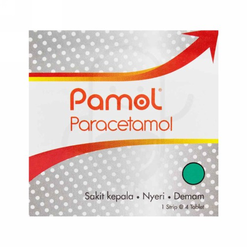PAMOL 500 MG TABLET BOX
