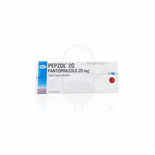 PEPZOL 20 MG BOX 10 TABLET