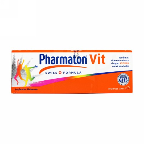 PHARMATON VIT STRIP 5 KAPLET
