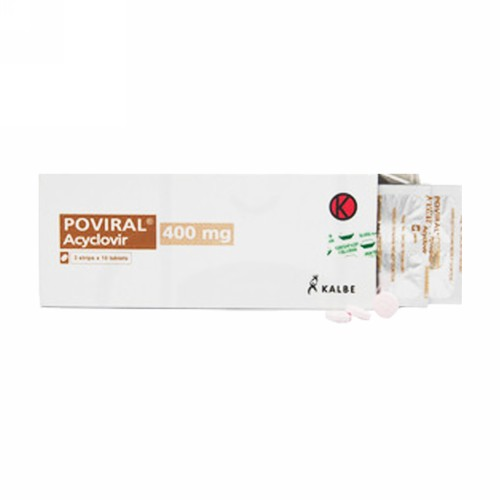 POVIRAL 400 MG BOX 30 TABLET