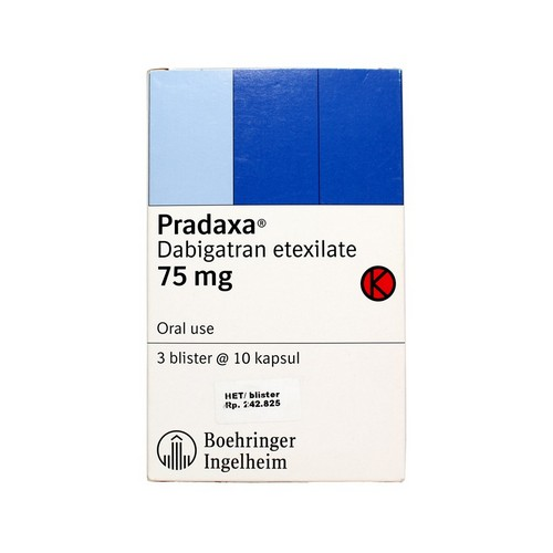 PRADAXA 75 MG KAPSUL STRIP