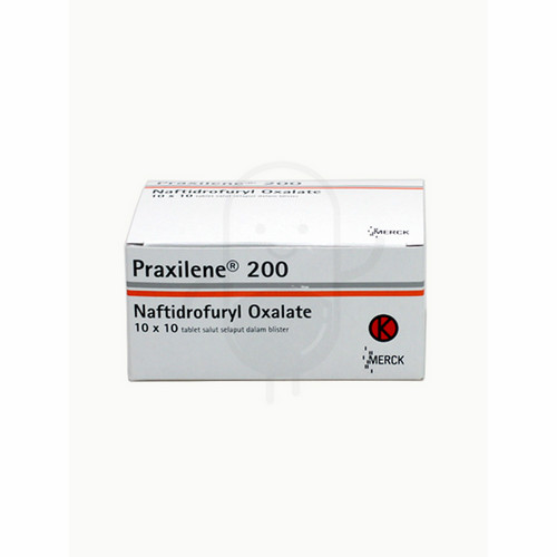 PRAXILENE 200 MG BOX 100 TABLET