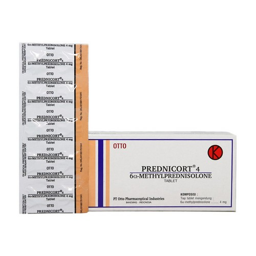 PREDNICORT 4 MG TABLET