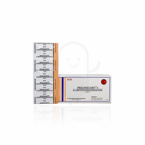 PREDNICORT 4 MG TABLET STRIP