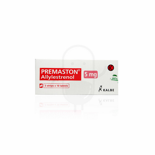 PREMASTON 5 MG TABLET STRIP