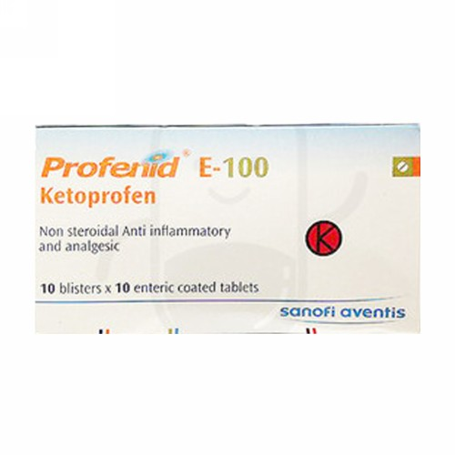 PROFENID E 100 MG TABLET