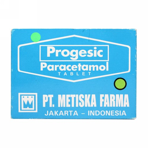 PROGESIC STRIP 4 TABLET