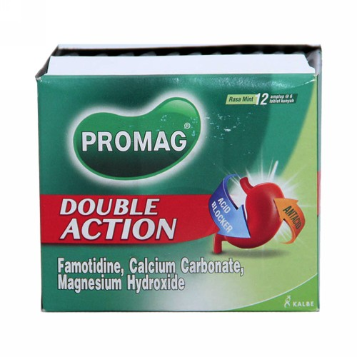 PROMAG DOUBLE ACTION STRIP 6 TABLET