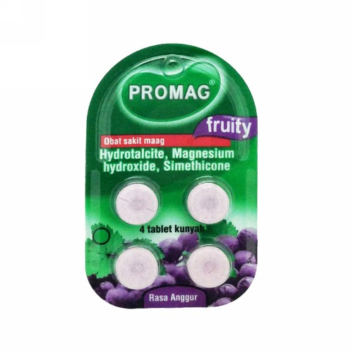 PROMAG FRUITY ANGGUR BOX 96 TABLET