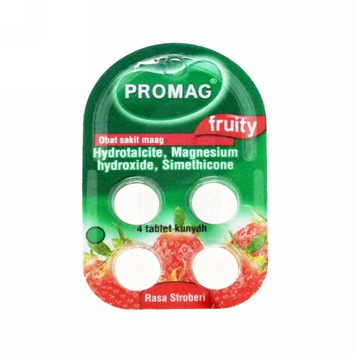PROMAG FRUITY STRAWBERRY BOX 96 TABLET
