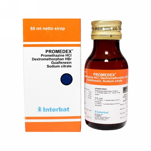 PROMEDEX SIRUP 60 ML