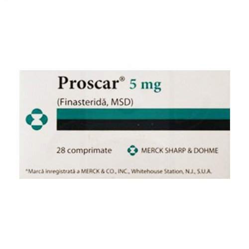 PROSCAR 5 MG TABLET BOX