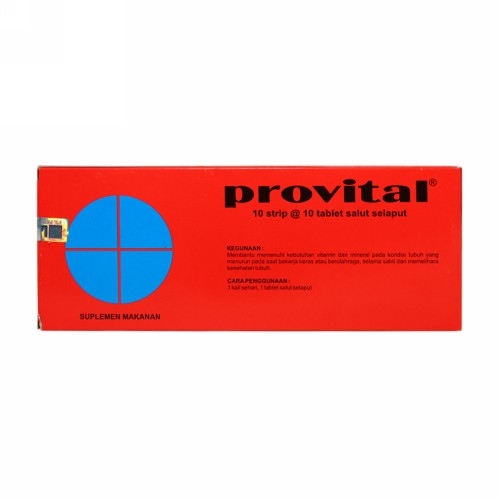 PROVITAL BOX 100 TABLET