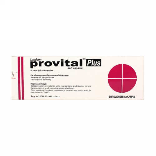 PROVITAL PLUS BOX 50 KAPSUL