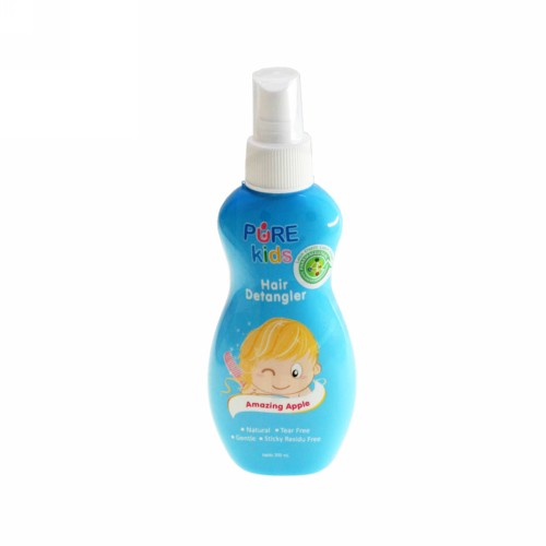 PURE KIDS HAIR DETANGLER AMAZING APPLE 200 ML BOTOL