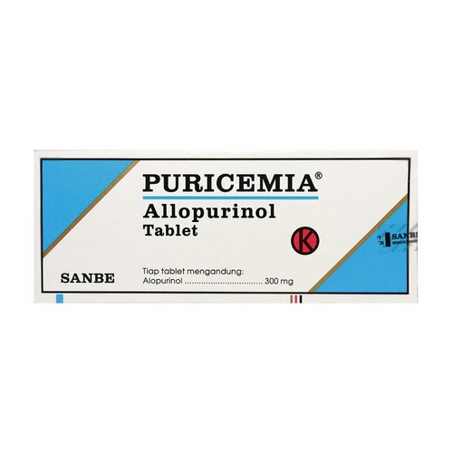 PURICEMIA 300 MG TABLET STRIP