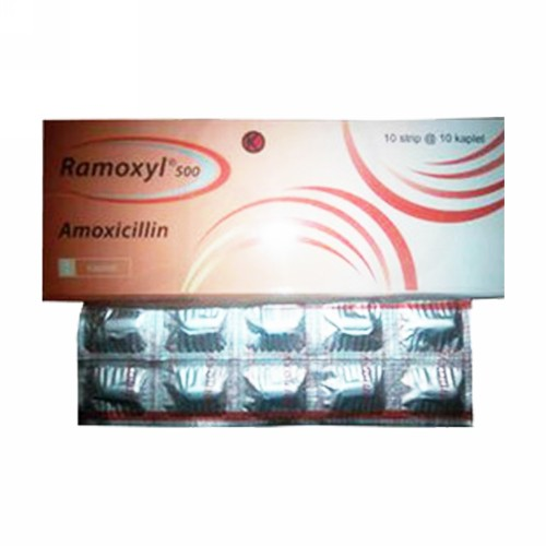 RAMOXYL 500 MG KAPLET BOX