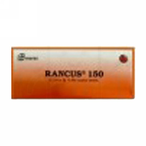 RANCUS 150 MG BOX 100 TABLET