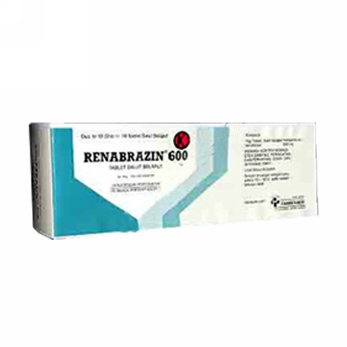 RENABRAZIN 600 MG KAPSUL BOX