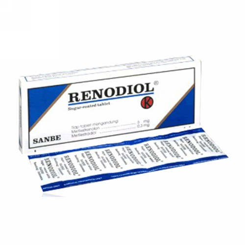RENODIOL 5 MG BOX 20 TABLET