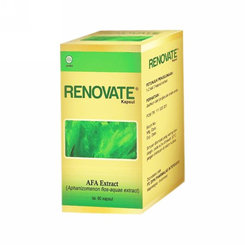 RENOVATE 333 MG BOX 90 KAPSUL