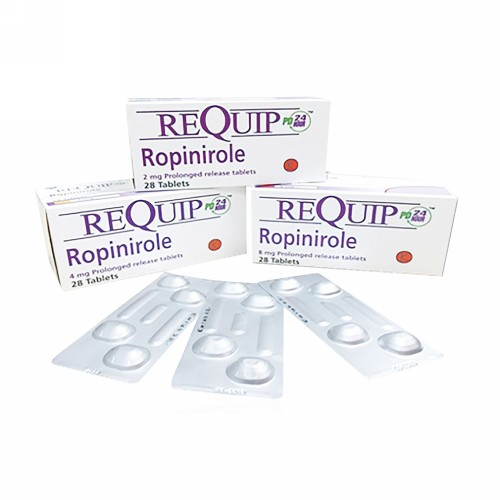 REQUIP PD 2 MG STRIP 4 TABLET