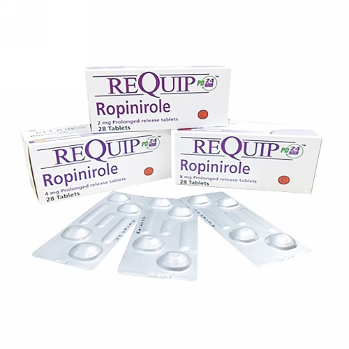 REQUIP PD 4 MG TABLET STRIP