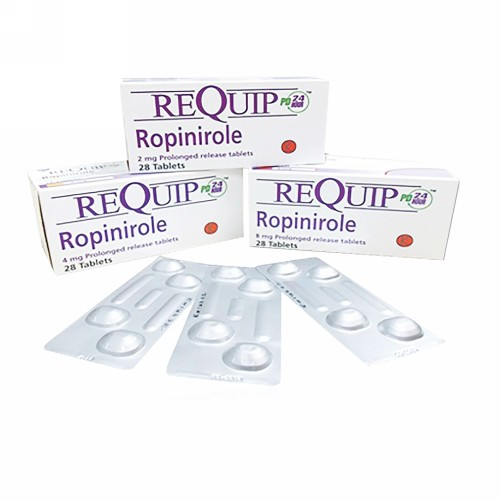 REQUIP PD 8 MG STRIP 4 TABLET
