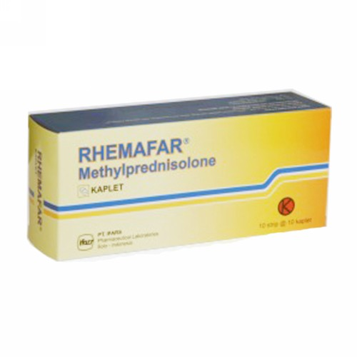 RHEMAFAR 4 MG KAPLET STRIP