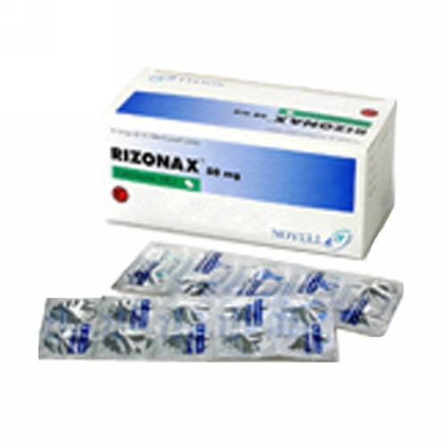 RIZONAX 50 MG BOX 10 STRIP