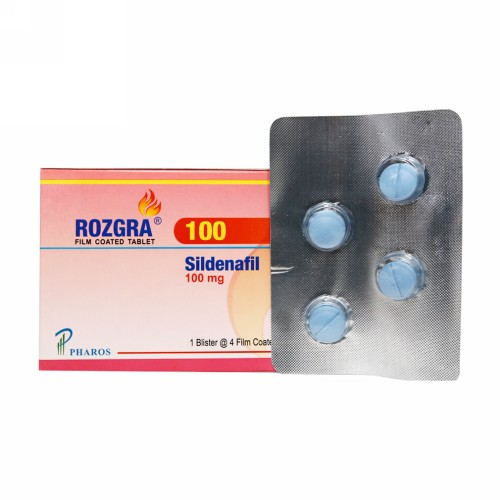 ROZGRA 100 MG TABLET BOX