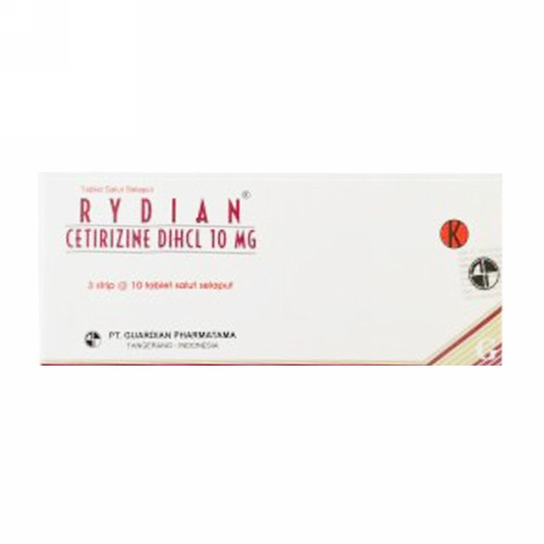 RYDIAN 10 MG TABLET STRIP