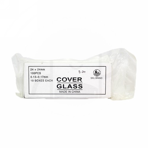 SAIL BRAND COVER GLASS 24 X 24 MM