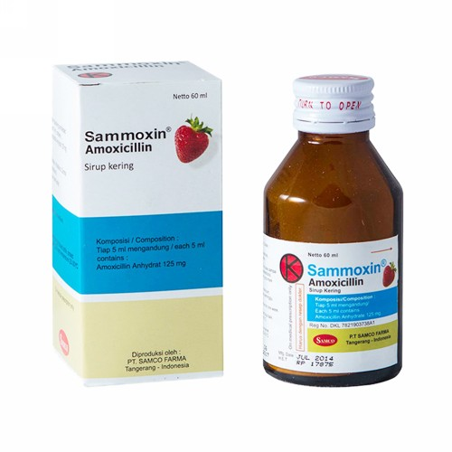 SAMMOXIN 60 ML SIRUP