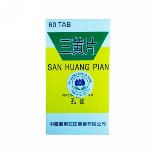 SAN HUANG PIAN BOX 60 TABLET