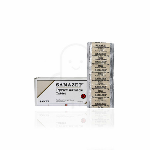 SANAZET 500 TABLET STRIP