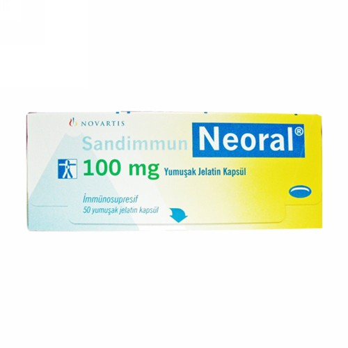 SANDIMUN NEORAL 100 MG KAPSUL STRIP