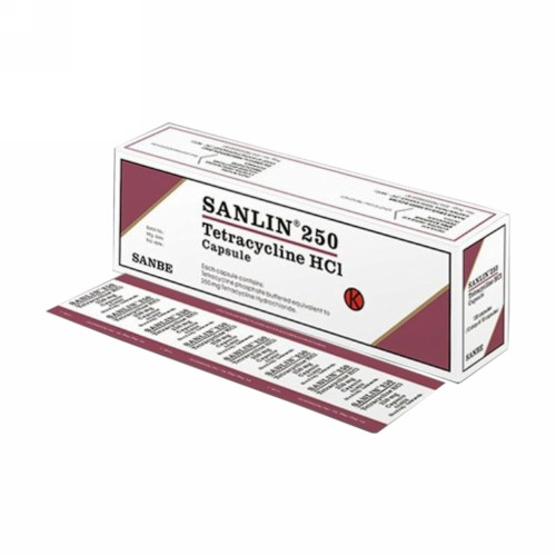 SANLIN 250 MG KAPSUL BOX
