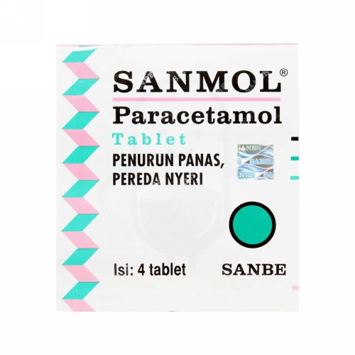 SANMOL 120 MG STRIP 10 TABLET KUNYAH