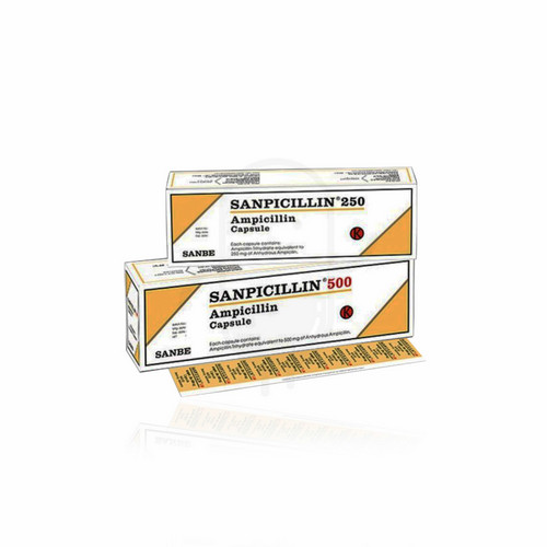 SANPICILLIN 500 MG KAPSUL STRIP