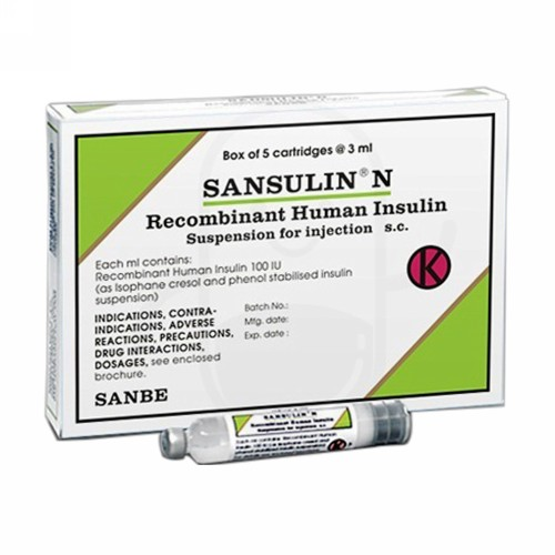 SANSULIN N CARTIDGE 3 ML INJEKSI