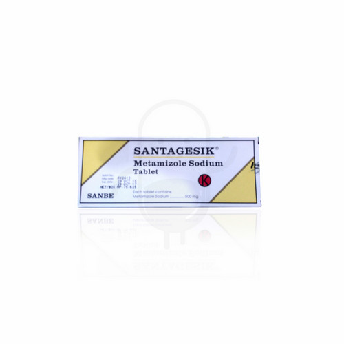 SANTAGESIK 500 MG STRIP 10 TABLET