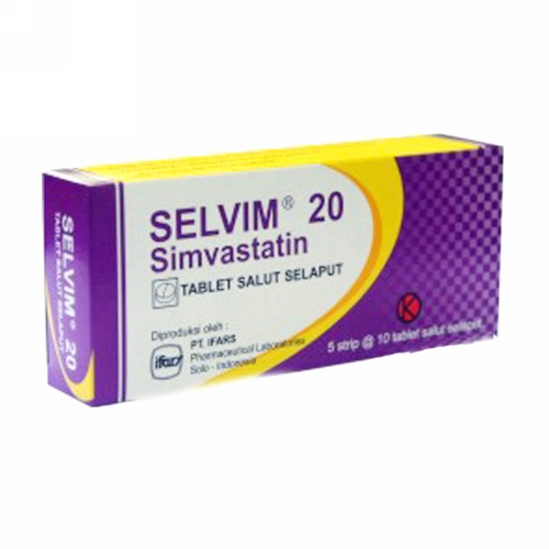 SELVIM 20 MG KAPLET STRIP