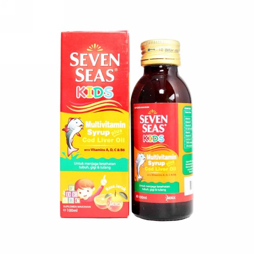 SEVEN SEAS ORANGE SIRUP 150ML