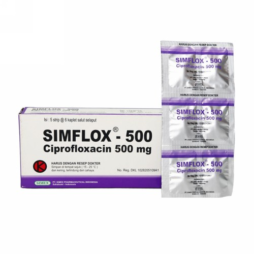 SIMFLOX 500 MG KAPLET BOX