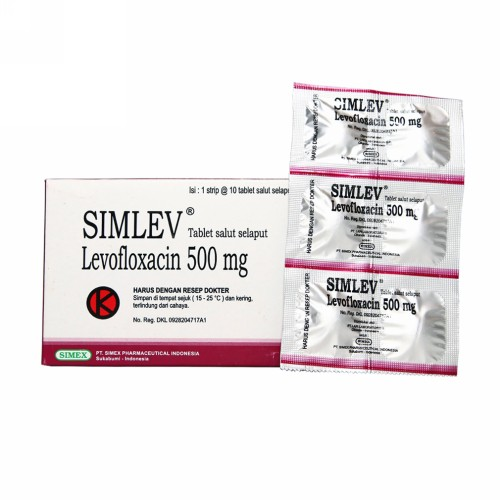 SIMLEV 500 MG TABLET